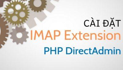 Cài đặt IMAP Extension PHP Direct Admin