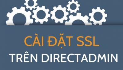 Cài đặt SSL trên Directadmin