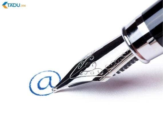 Tạo chữ ký cho Email User