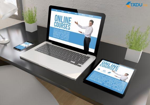 khóa học online thiết kế web