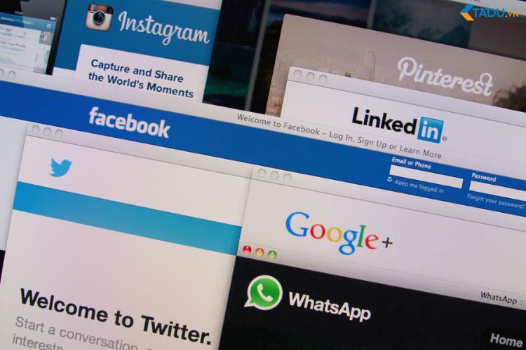 tham gia mạng xã hội thu hút khách hàng