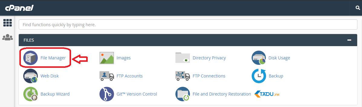 upload file để cài wordpress lên host
