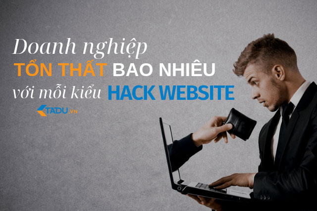 tổn thất hack website